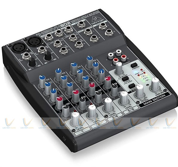 Thiết kế của Behringer XENYX 802