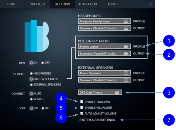 Phần mềm tăng chất lượng âm thanh cho PC Bongiovi DPS