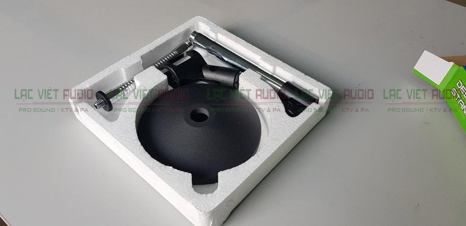 Trọn bộ sản phẩm chân micro để bàn bán tại Lạc Việt Audio có giá 300.000đ