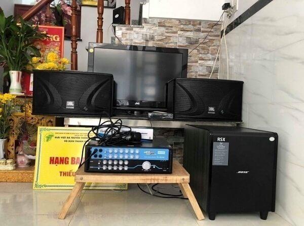 Các thiết bị cho dàn karaoke gia đình dưới 5 triệu tại Lạc Việt Audio