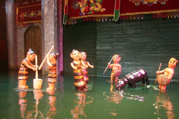 Cơ sở tự nhiên hình thành múa rối nước Việt Nam