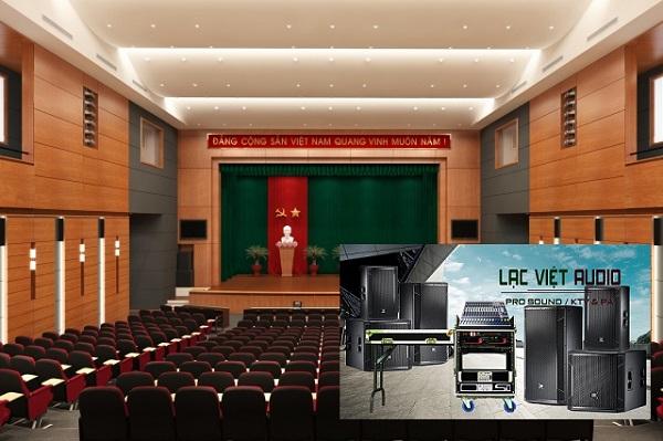 Cấu hình dàn âm thanh sân khấu với mức đầu tư 80 triệu sử dụng phổ biến cho các sân khấu hội trường