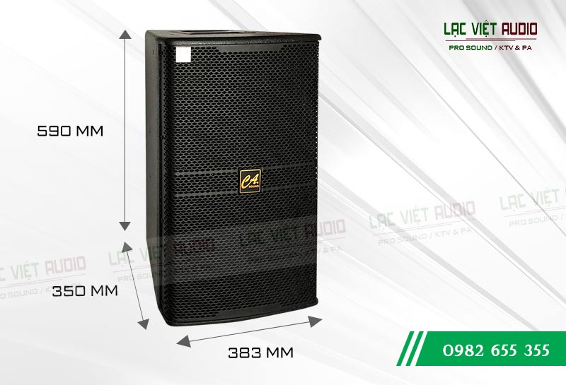 Loa CA Sound KP 4012 kích thước