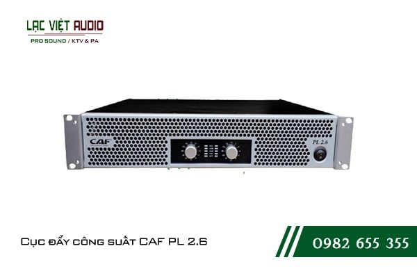 Giới thiệu về thiết bị Cục đẩy công suất CAF PL 2.6