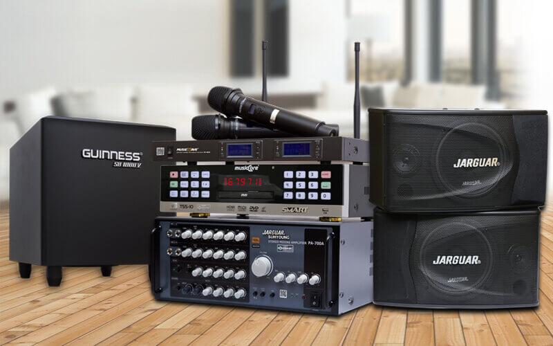 Các thiết bị cho dàn karaoke gia đình dưới 20 triệu đồng tại Lạc Việt Audio