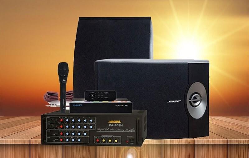 Chọn loa cho dàn karaoke gia đình dưới 20 triệu đồng