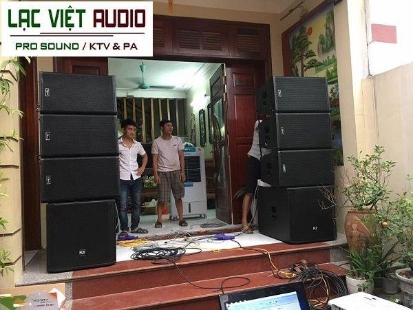 Dàn âm thanh sân khấu, đám cưới được cung cấp cho anh Tuyên Bắc Ninh