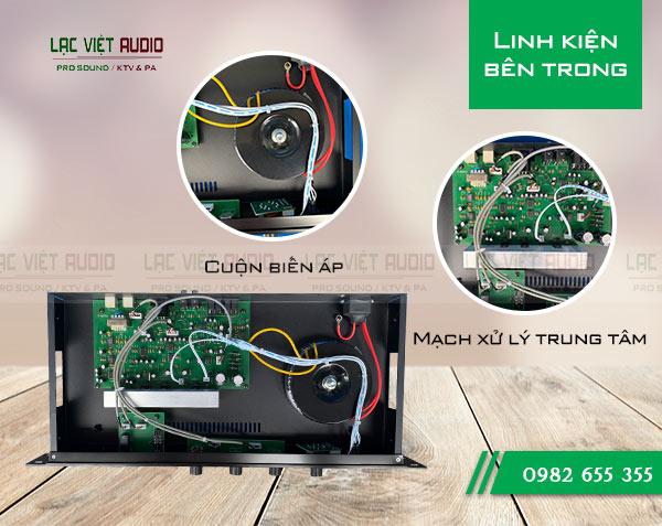 Amply trung tâm DB LH-8000 hoạt động bền bỉ