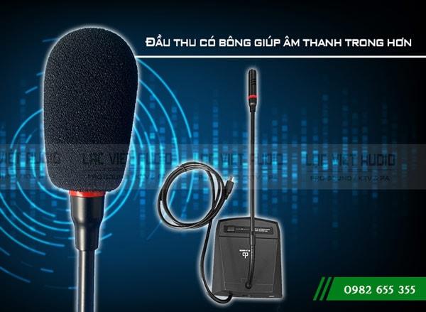 Micro Đại Biểu DB LH-8000B thu âm chính xác