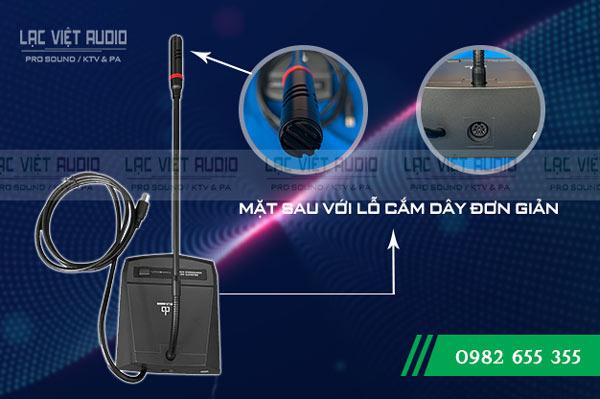 Micro đại biểu DB LH-8000B lỗ cắm dây tiện dụng