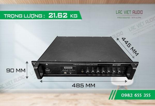 Amply DB LP1000F dành cho loa âm trần