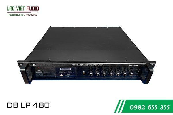 Amply liền bộ trộn DB LP480Fv