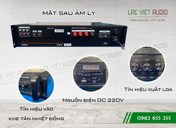 Amply DB LP-480F mặt sau