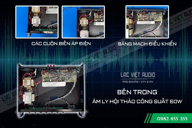 Amply DB LP-60F cấu tạo bên trong