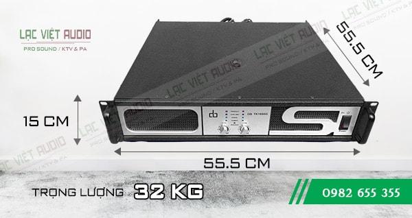 Cục đẩy DB TK 1600S kích thước