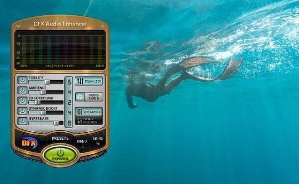 Phần mềm tăng chất lượng âm thanh cho máy tính DFX Audio Enhancer