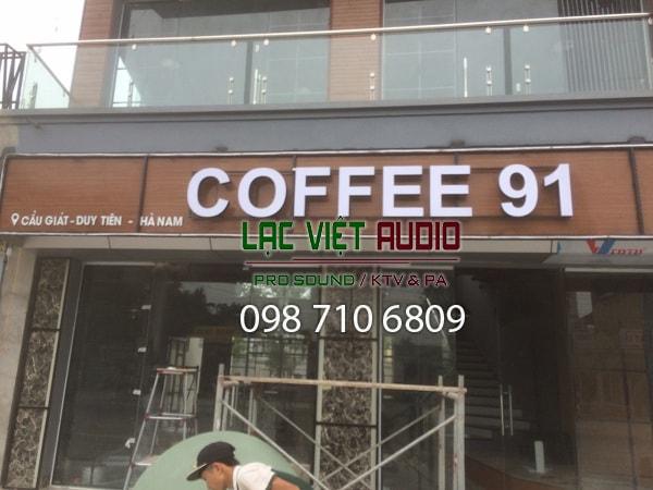 Phòng karaoke hát cho nhau nghe Hà Nam