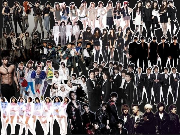 Danh sách các ca sĩ, nhóm nhạc Kpop Hàn Quốc