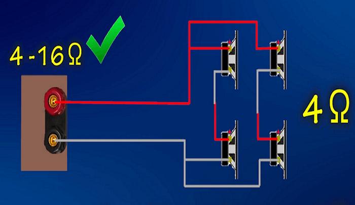 Đấu loa với amply bằng cách thêm điện trở vào mạch nối mang đến hiệu quả cao