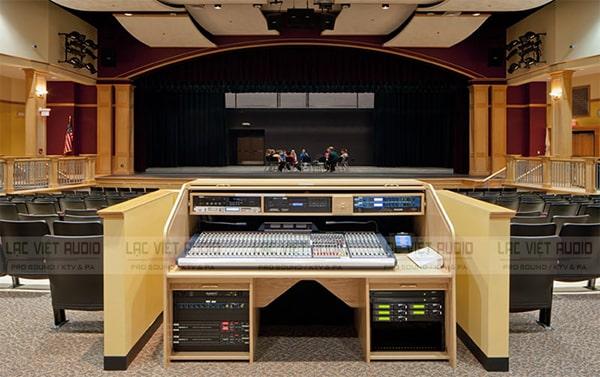 Mixer số dược ứng dụng phổ biến trong các bộ dàn âm thanh chuyên nghiệp