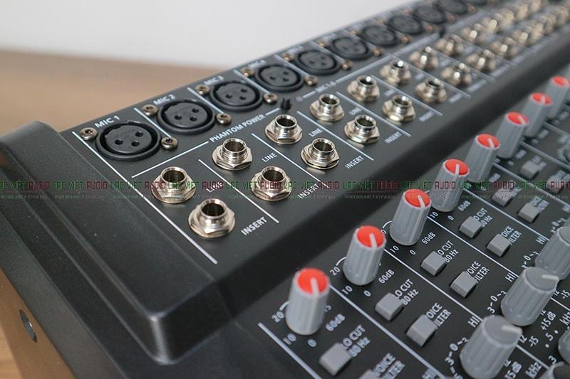 10 kênh tín hiệu đầu vào