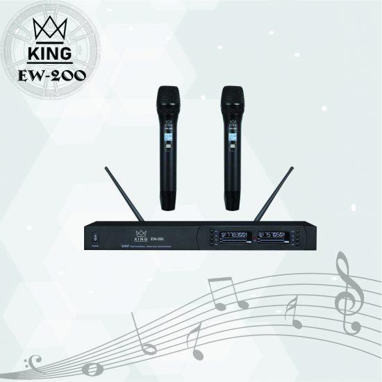 Micro không dây King EW200