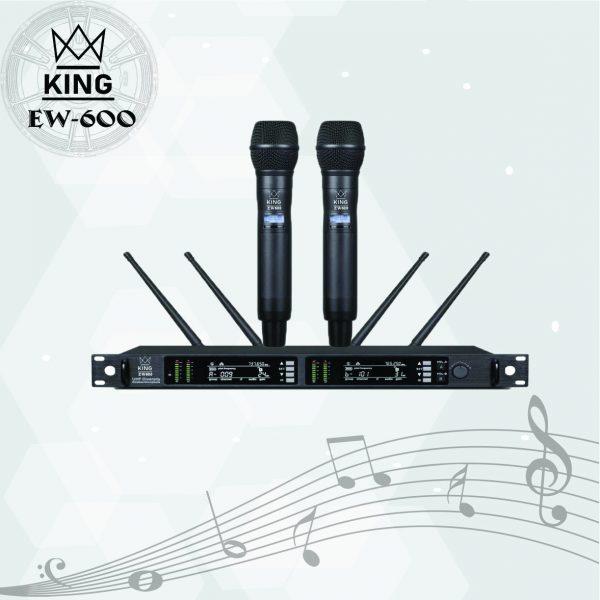 Micro chuyên nghiệp King EW 600