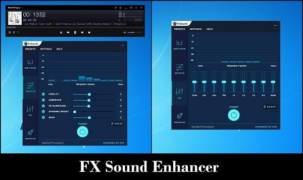 Phần mềm tăng chất lượng âm thanh cho PC FxSound Enhancer