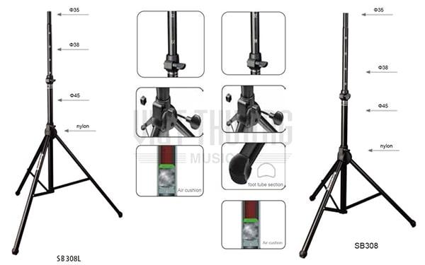 Giá đỡ loa 3 chân mini cho loa BMB và BOSE có nhiều ưu điểm vượt trội
