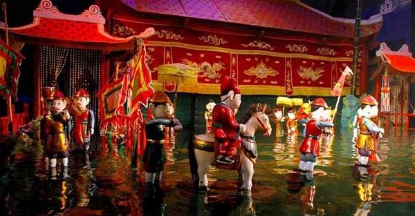 Giá trị nhận thức của múa rối nước Việt Nam
