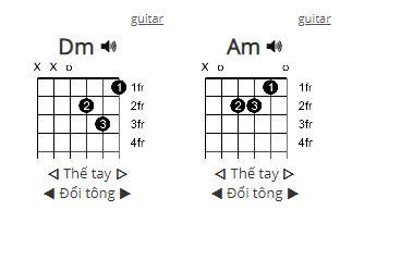 Hợp âm guitar lời bài hát hồng nhan