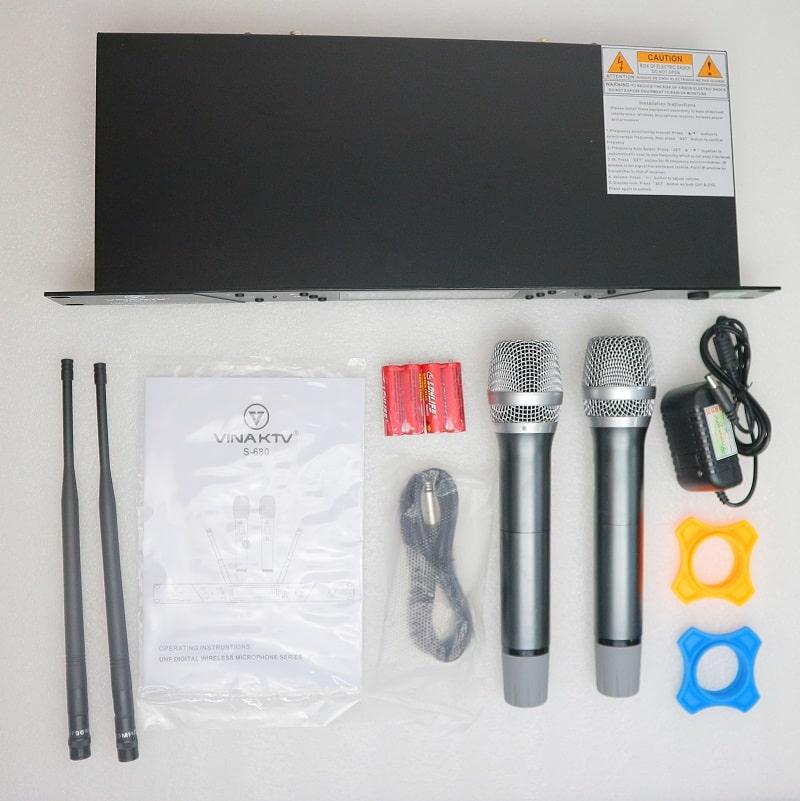 Trọn bộ thiết bị, phụ kiện có trong hộp