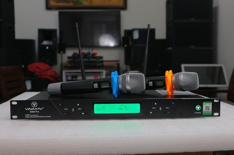 Bộ mic S680 Pro hàng Việt Nam