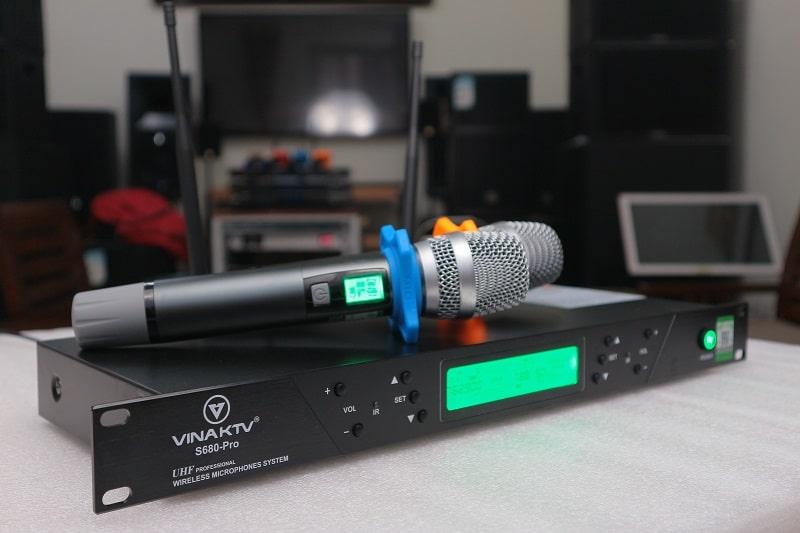 Bộ micro Vinaktv s680 pro