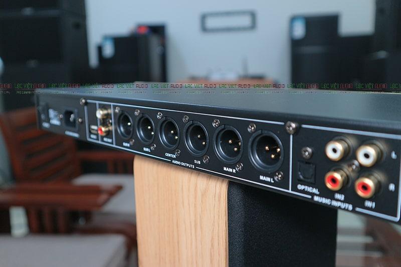 6 kênh âm thanh ra loa dạng canon