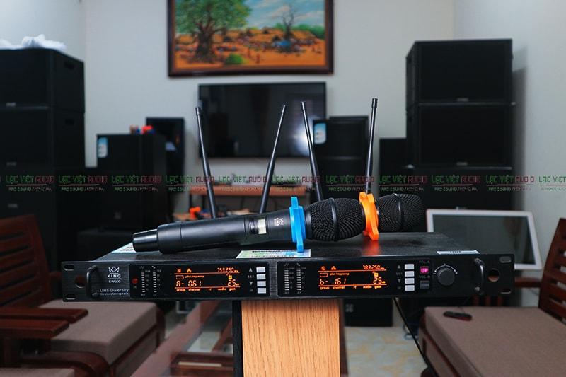 Micro không dây cao cấp King EW 600