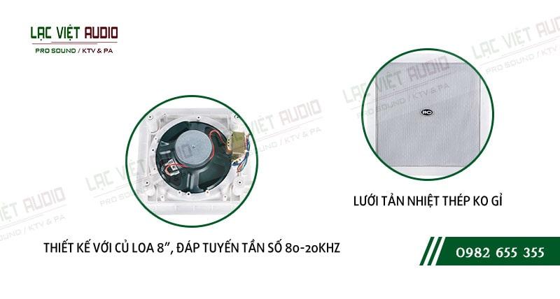 Các đặc điểm nổi bật của sản phẩm Loa gắn tường ITC T552R