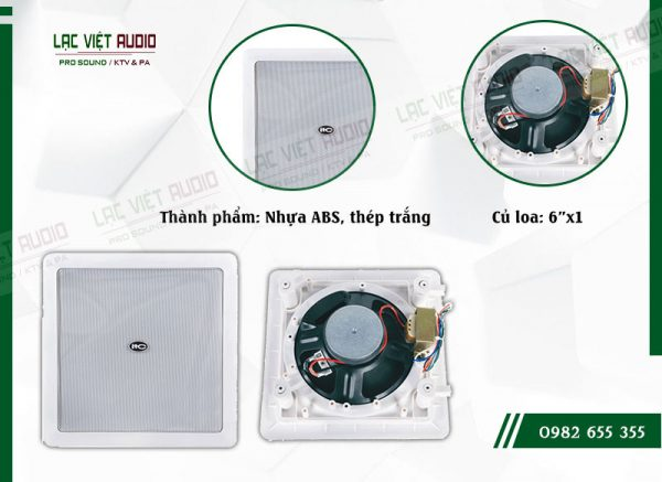 Các đặc điểm nổi bật của thiết bị Loa gắn tường ITC T562R
