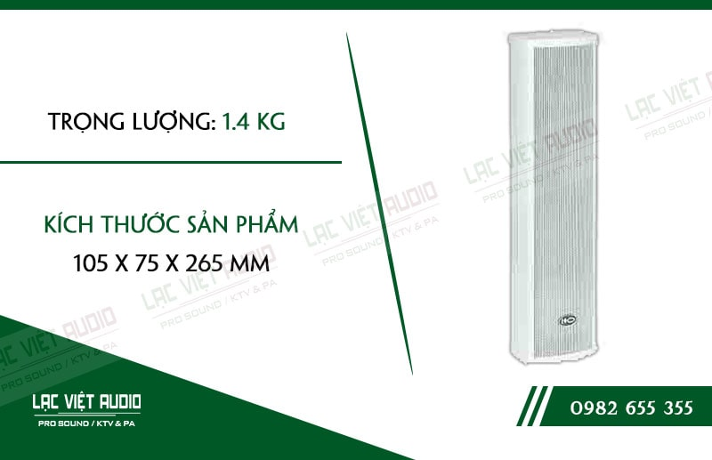 Trọng lượng và kích thước nhẹ cũng là ưu điểm vượt trội của sản phẩm này