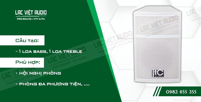 Các đặc điểm nổi bật của sản phẩm Loa sân khấu ITC TS8W