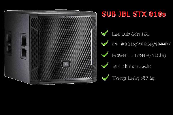 Loa SUB JBL STX 818s chất lượng cao, giá tốt nhất