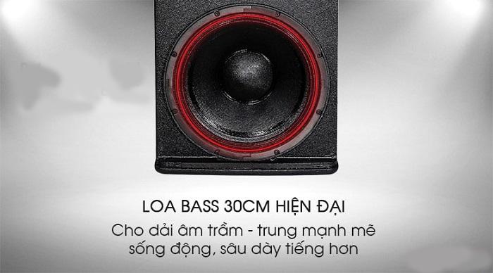 Bass loa JBL KP 4012 là loại bass có chất lượng âm thanh tốt nhất trong phân khúc