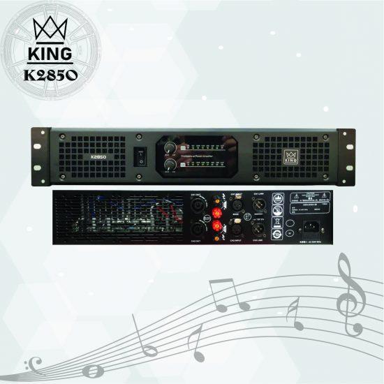 Cục đẩy công suất 2 kênh King K2350
