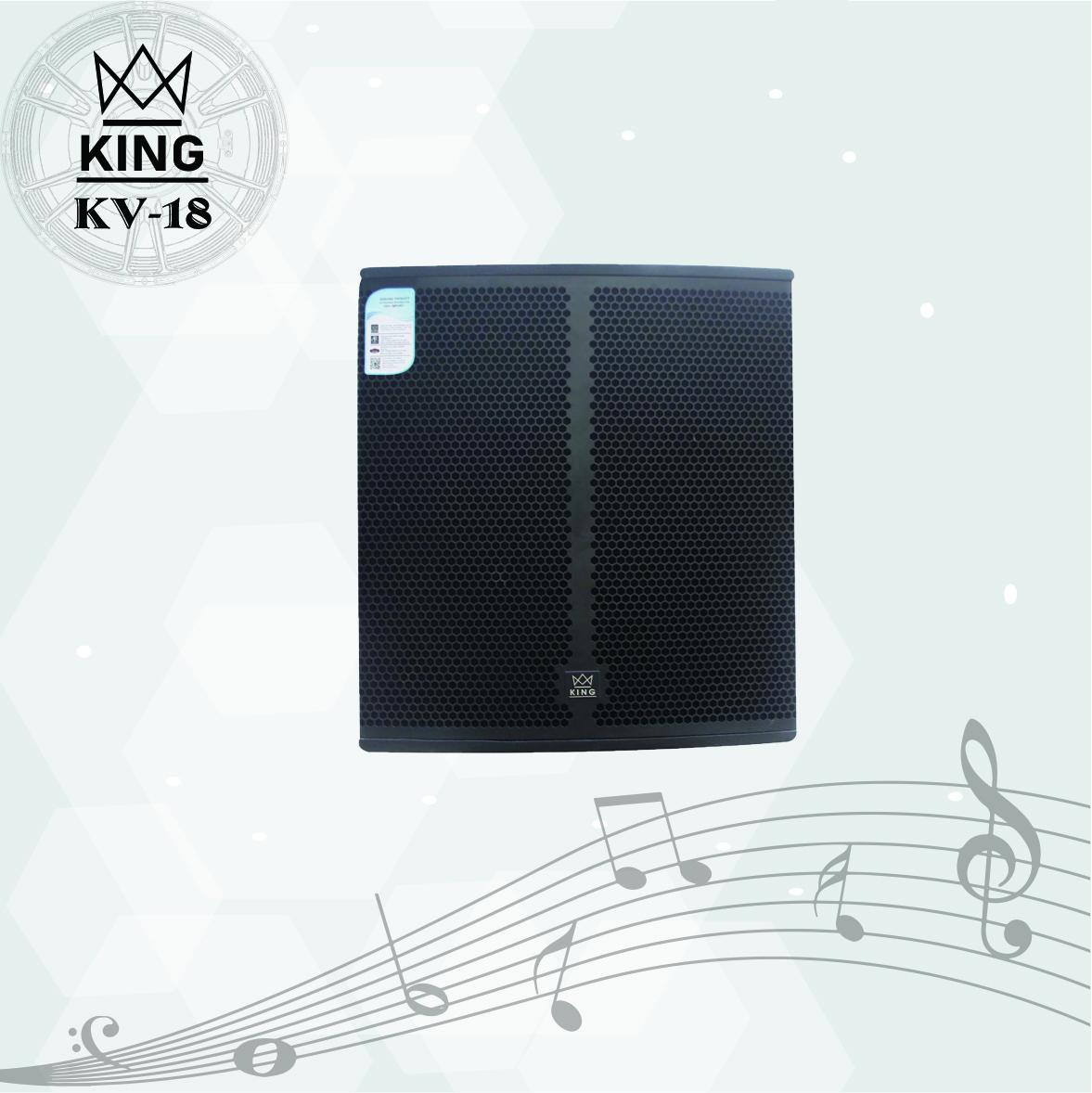 Loa sub đơn bass 50 King KV18