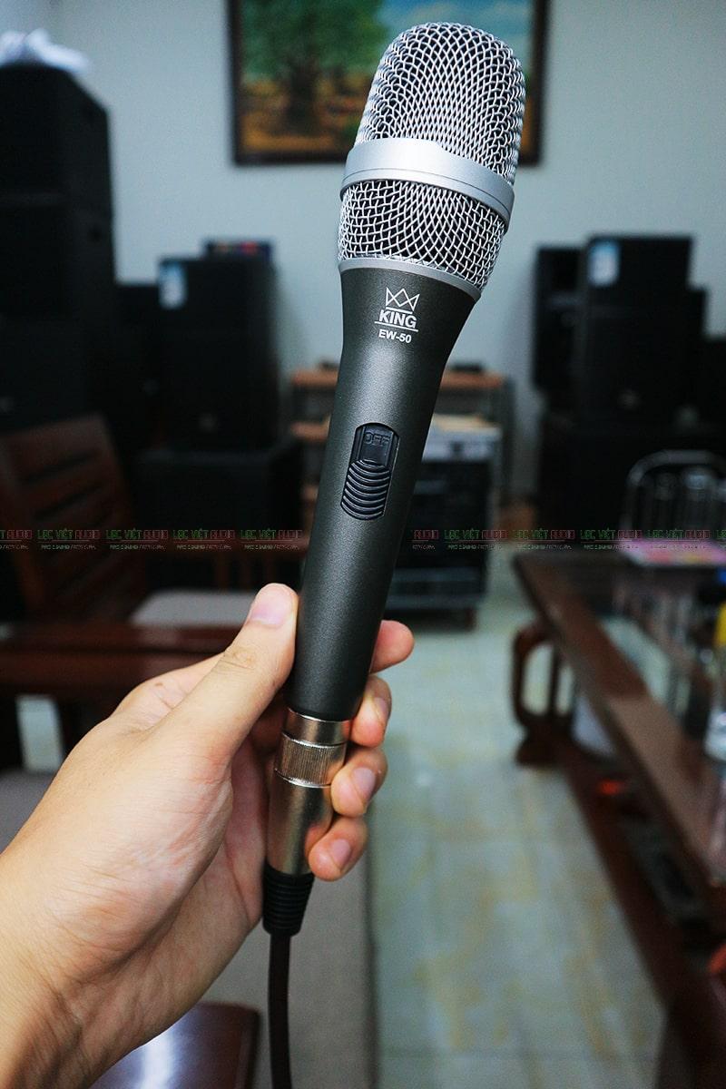 Mua các sản phẩm micro có dây KING chính hãng chất lượng tại Lạc Việt Audio