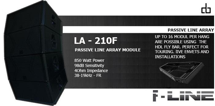 Loa DB LA210F loa array chính hãng