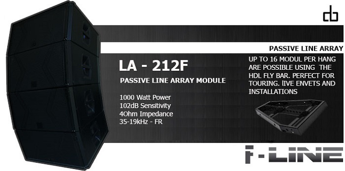 loa array DB LA-212F
