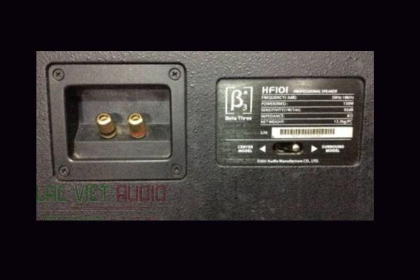 Mặt sau của loa Loa B3 HF101