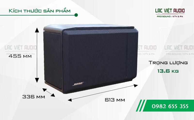 Loa Bose 301 seri IV kích thước
