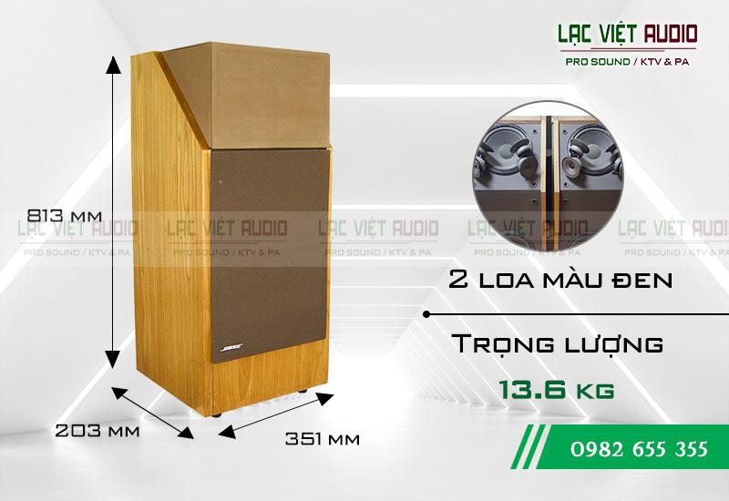 Loa Bose 601 seri III kích thước